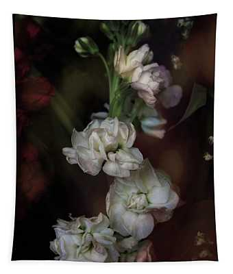 Stem Of Flowers Tapestry