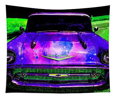 Stephen King's Day Glo Chevy Number 57 Tapestry