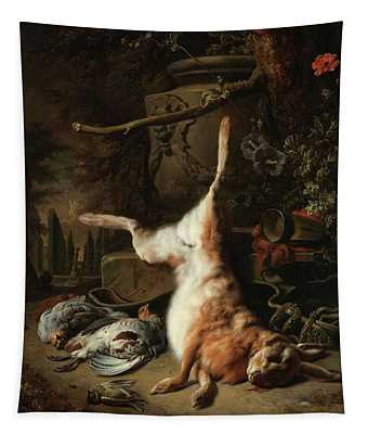 Still Life With A Hare And Other Game, 1697 Tapestry