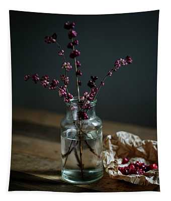 Still Life With Berries Tapestry