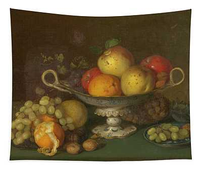 Still Life With Fruit, 1844 Tapestry