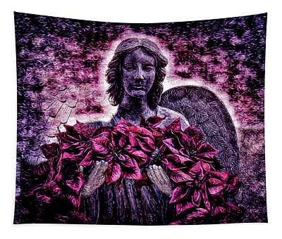 Stone Angel Tapestry