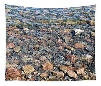 Stones In The Baltic Sea Tapestry