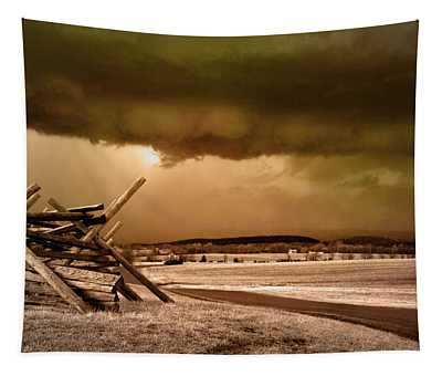 Storm Brewing Tapestry