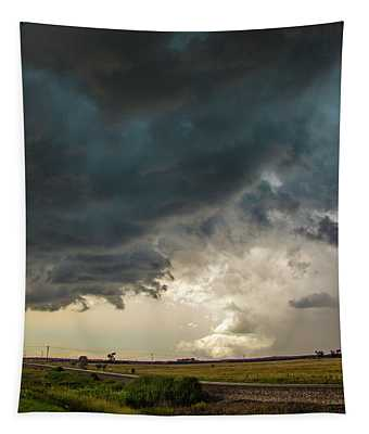 Storm Chasin In Nader Alley 012 Tapestry