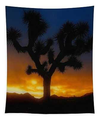Stormy Sunrise Tapestry