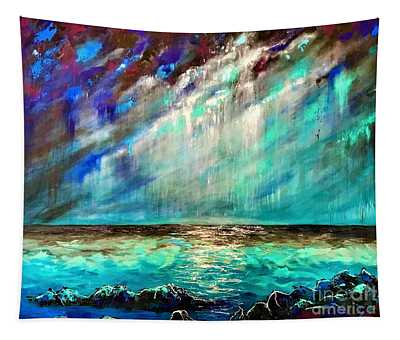 Stormy Weather  Tapestry