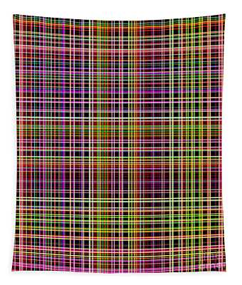 Straight Lines In Multiple Colors - Plb315 Tapestry