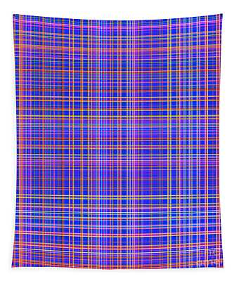Straight Lines In Multiple Colors - Plb319 Tapestry
