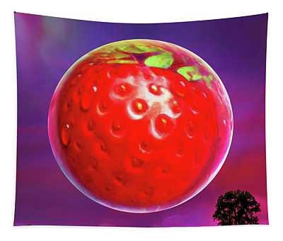 Strawberry Moon  Tapestry