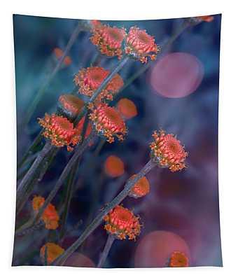 Strawflowers Tapestry