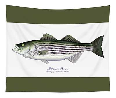 Striped Bass Tapestry