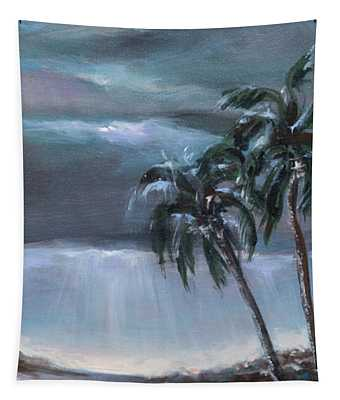 Stroll After The Rain Tapestry