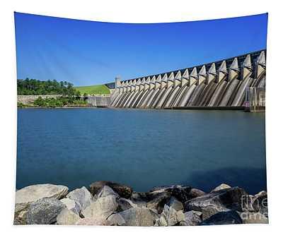 Strom Thurmond Dam - Clarks Hill Lake Ga Tapestry