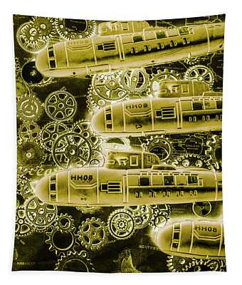Submersible Seas Tapestry