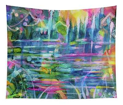 Summer At The Lake Tapestry