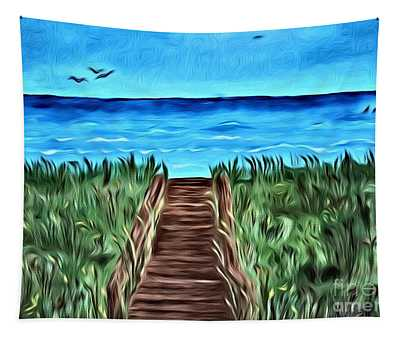 Summer Day Tapestry
