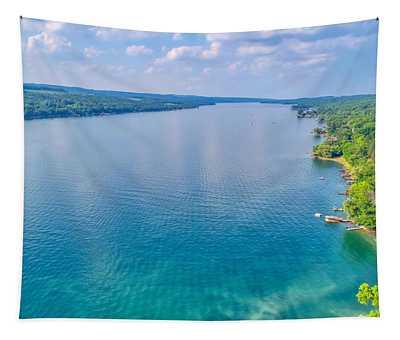 Summer On Keuka Lake Tapestry