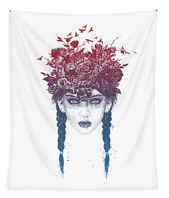 Summer Queen Tapestry