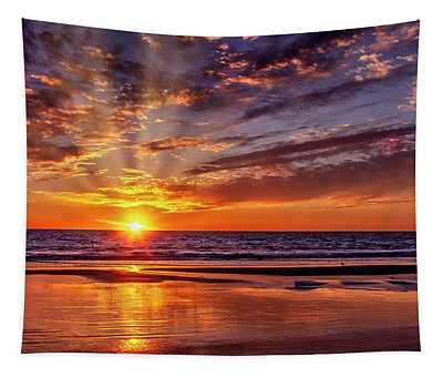 Summer Sunset Tapestry