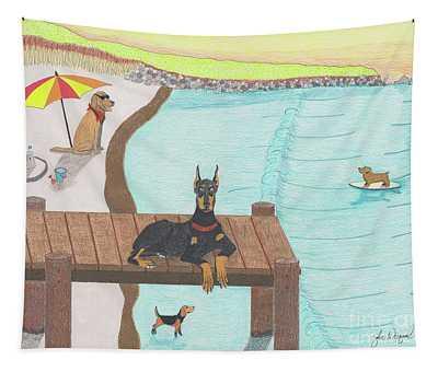 Summertime Fun Tapestry