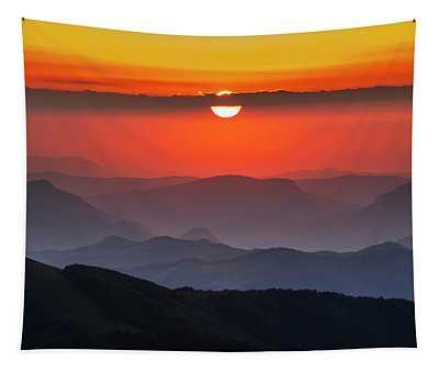 Sun Eye Tapestry