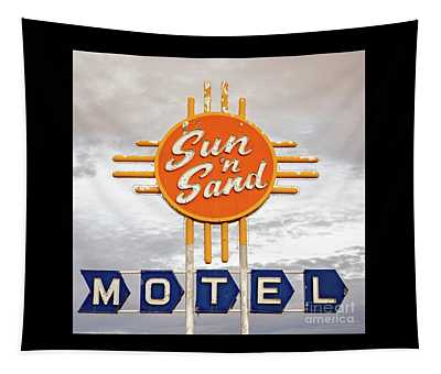 Sun 'n Sand Motel  Tapestry