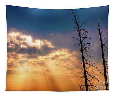 Sunbeams Tapestry
