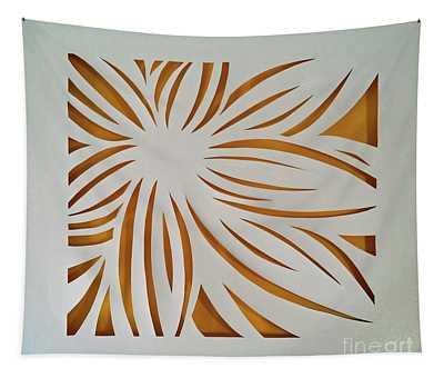 Sunburst Petals Tapestry