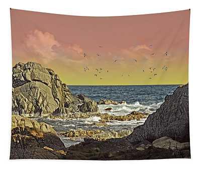 Sundown At Buck Tapestry