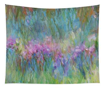 Sunlight Dancing In The Meadow Tapestry