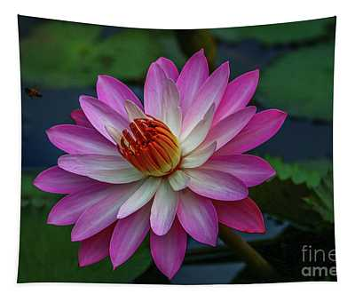 Sunlit Lily Tapestry