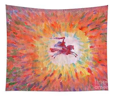 Sunny Rider Tapestry