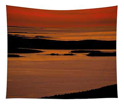 Sunrise Cadillac Mountain Tapestry