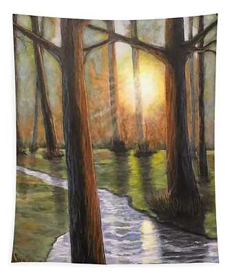 Sunrise Creek II Tapestry