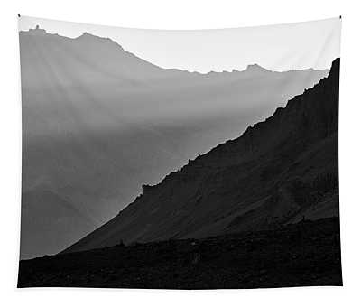 Tapestry featuring the photograph Sunrise In The Himalayas by Whitney Goodey