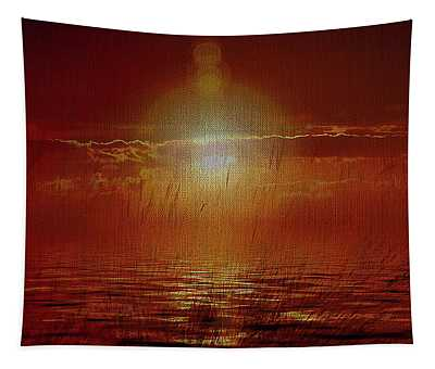 Sunrise On The Coast Tapestry