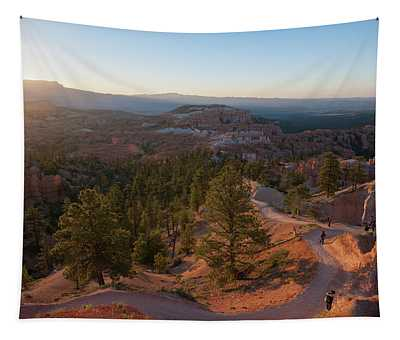 Sunrise Over Bryce Canyon Tapestry