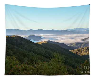 Sunrise Smoky Mountains Tapestry