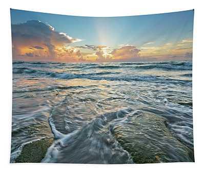 Sunrise Sunbeams Tapestry