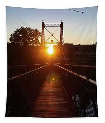 Sunset Alignment Tapestry