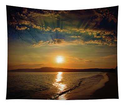 Sunset Artistry Tapestry