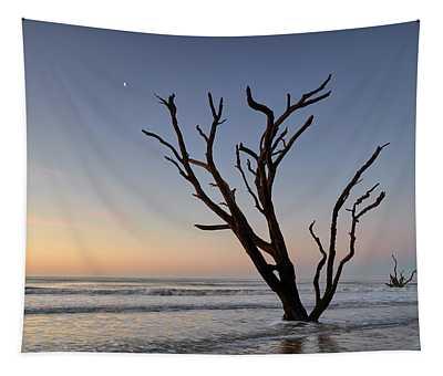 Sunset At Botany Bay Tapestry