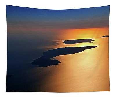 Sunset At Lyon Rock II Tapestry