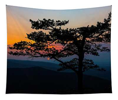 Sunset At Ravens Roost Tapestry