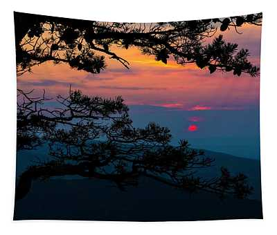 Sunset At Ravens Roost II Tapestry