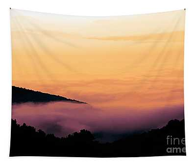 Sunset Clouds Pennsylvania  Tapestry
