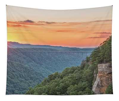 Sunset Flare Tapestry