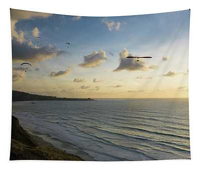 Sunset Glide Party Tapestry