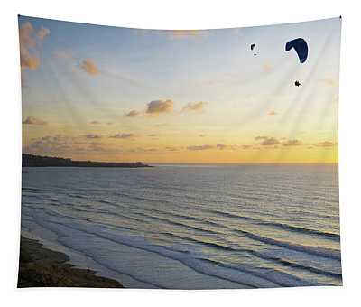 Sunset Glide Time 2 Tapestry
